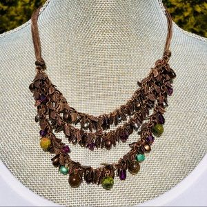 🆕NWT Coldwater Creek  Copper Leaf necklace